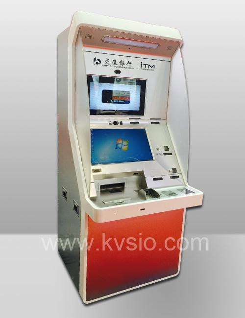 Free Standing Banking Kiosk Auto Teller Machine Kvsio Intl